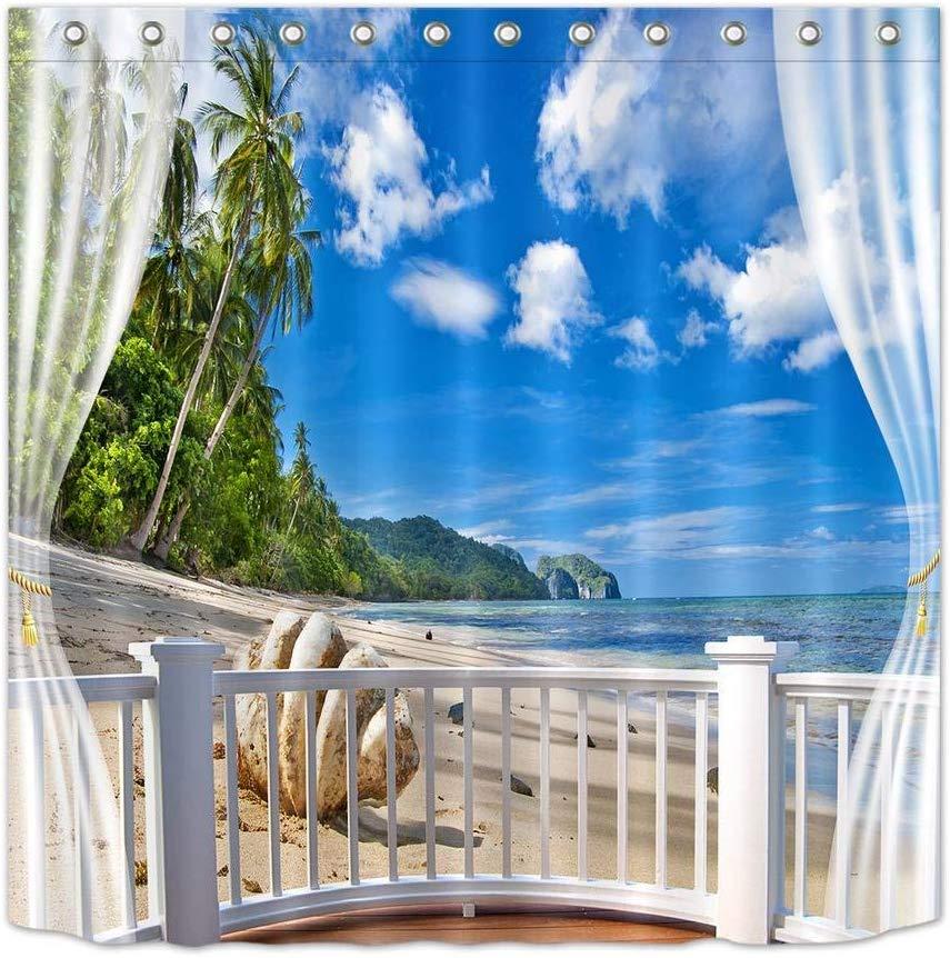 Comprar cortinas con paisajes