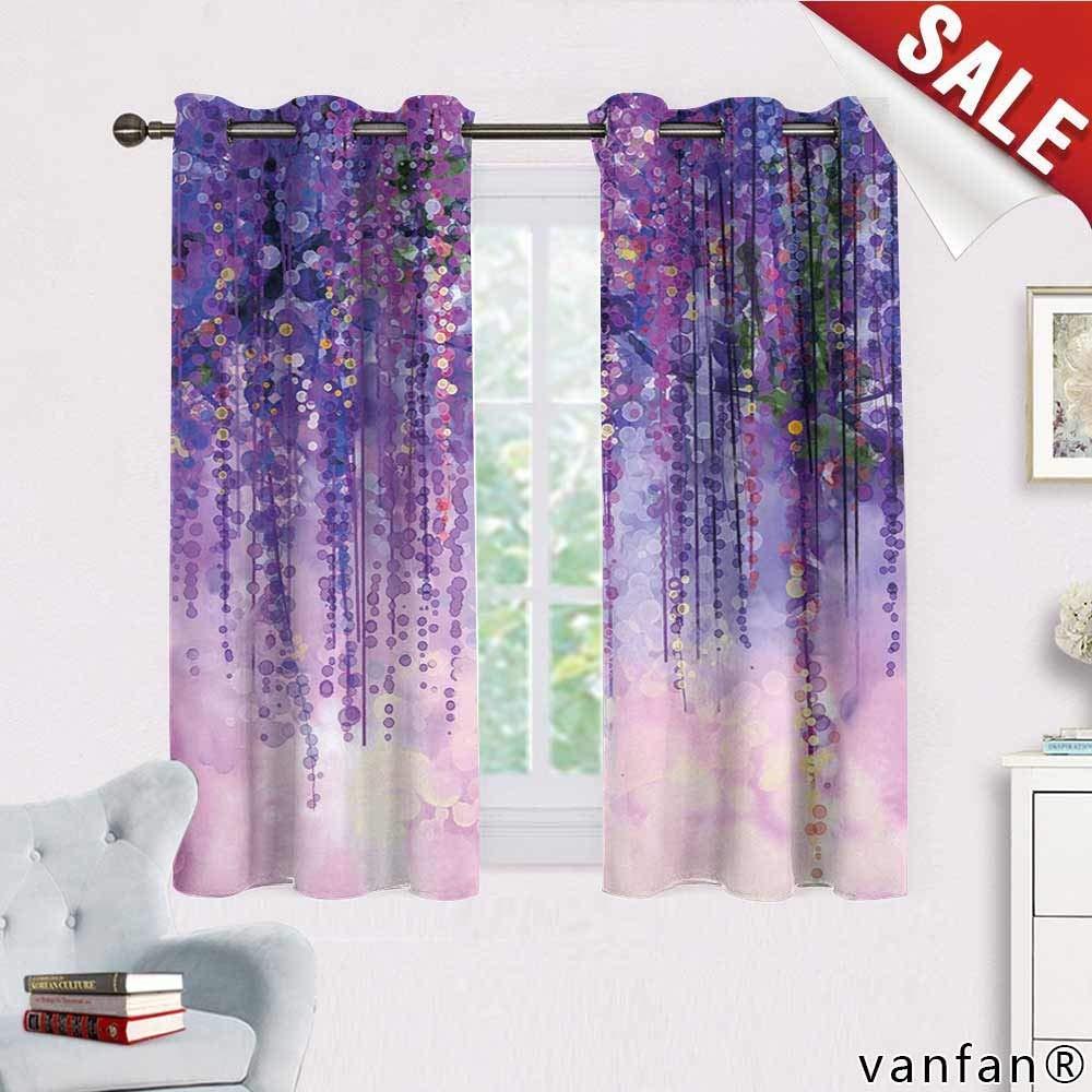 cortinas violestas precios