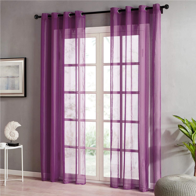 Cortinas Violetas