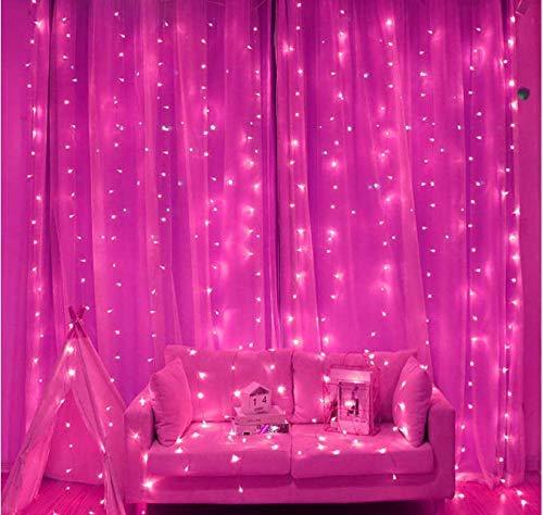 imagenes de arreglos de cortinas con luces para decorar