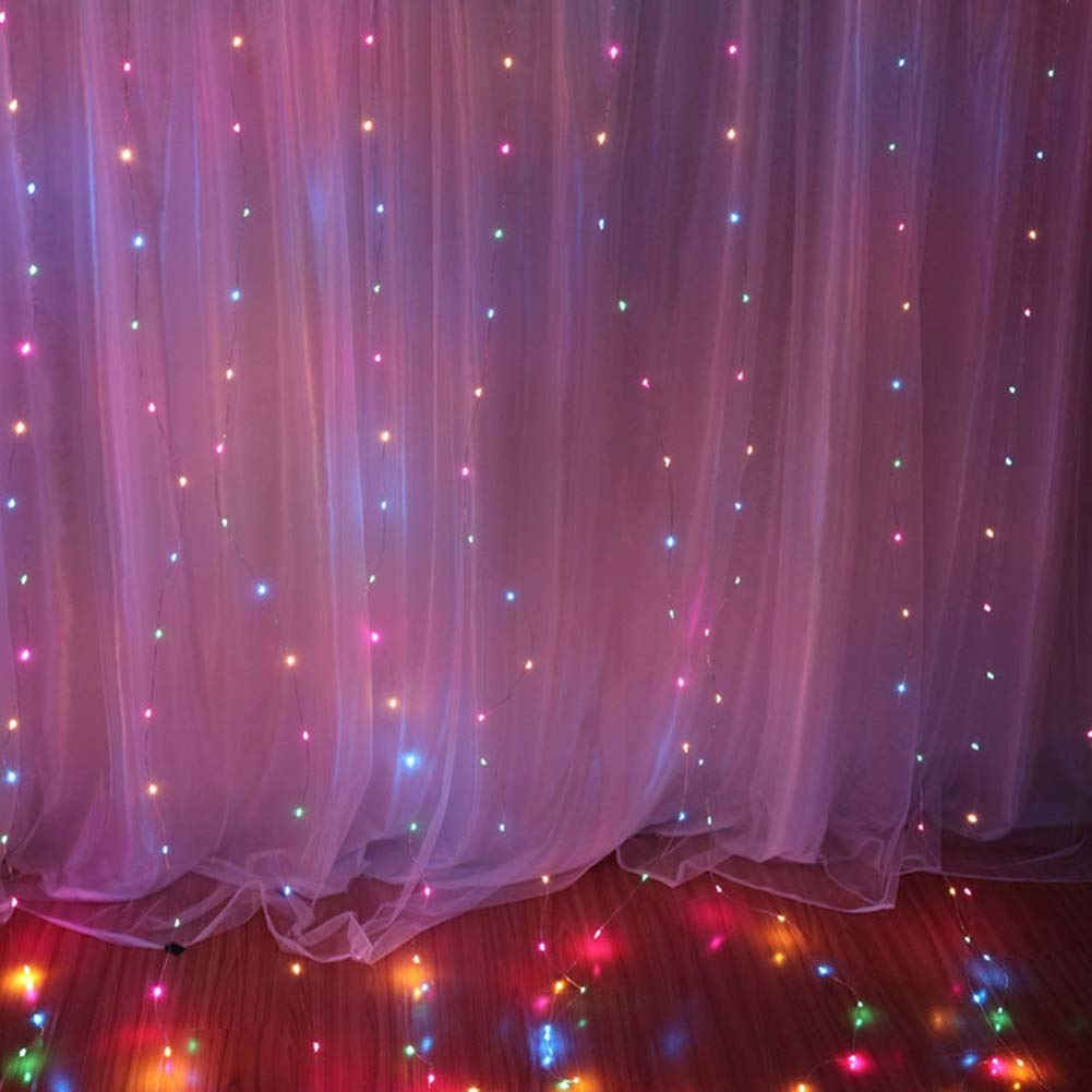 imagenes de cortinas con luces para decorar