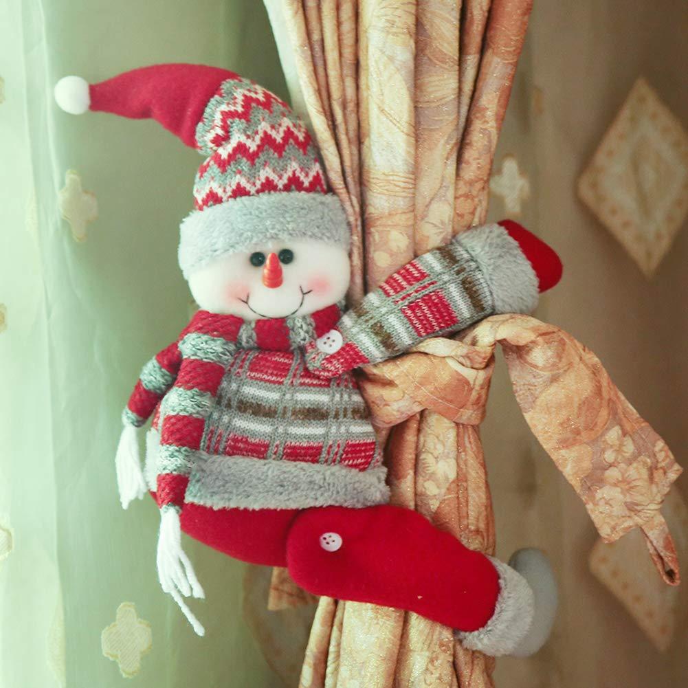mejores cortinas para sala de estar 21 Modelos De CORTINAS Navideas Cortinas De Navidad 2019