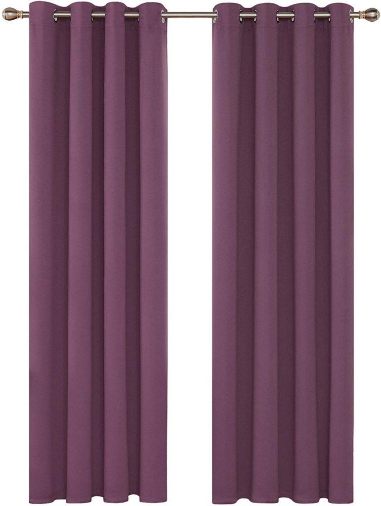 cortinas violetas amazon