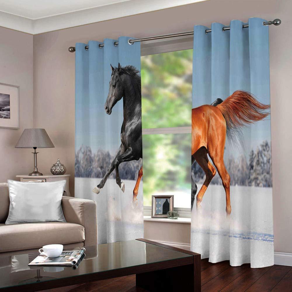 amazon cortinas de caballos