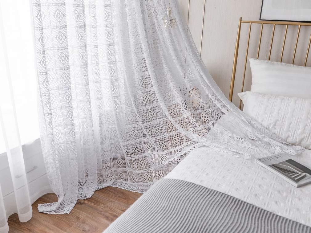cortinas a crochet precio