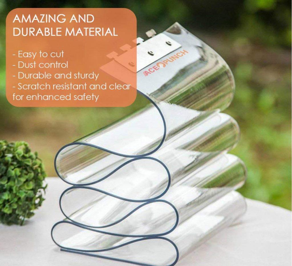 Comprar cortinas transparentes de PVC