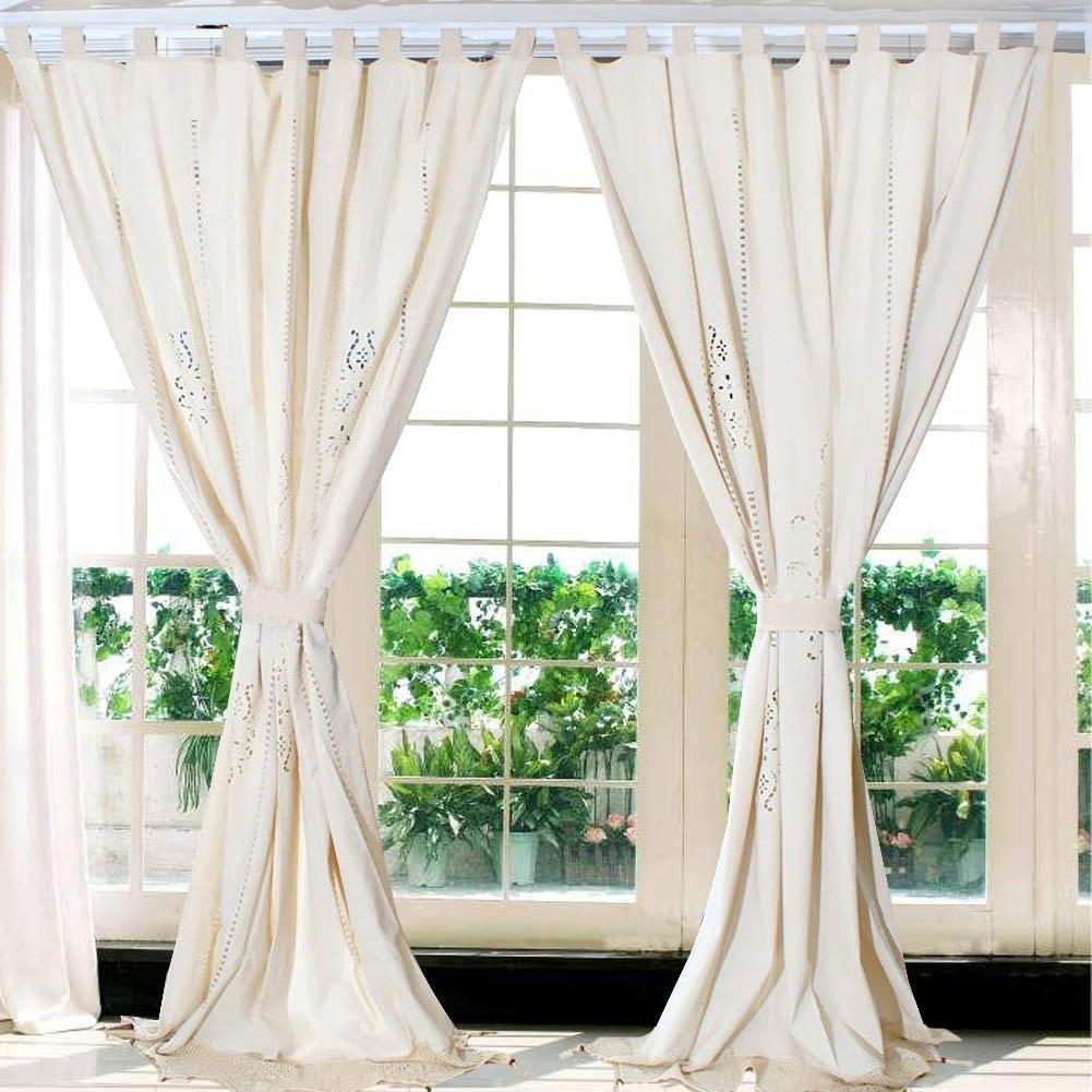 cortinas de crochet