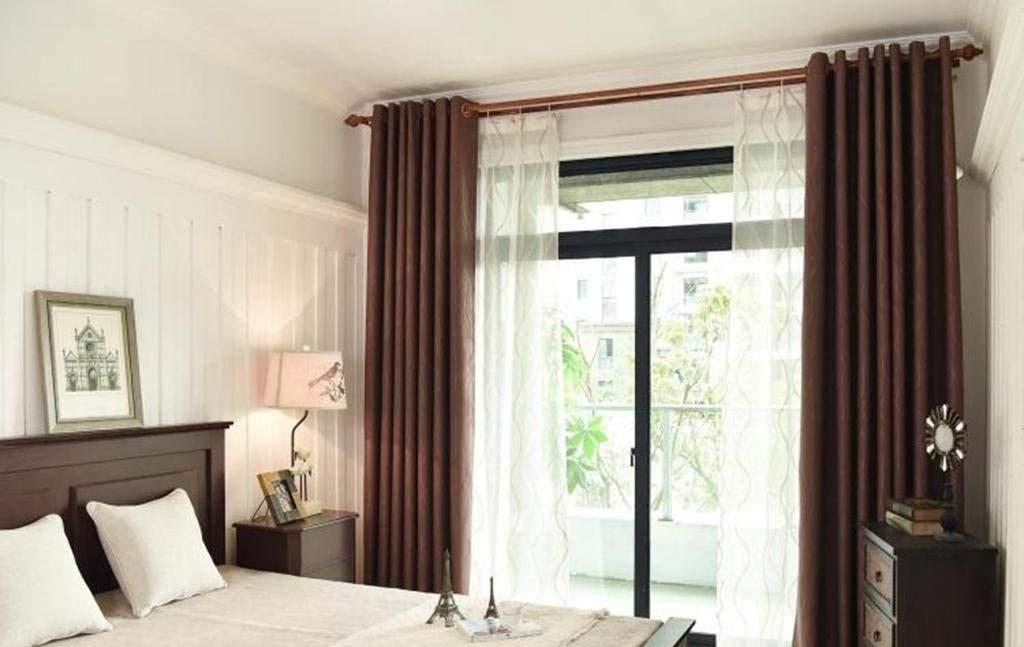 modelos de cortinas para dormitorios matrimoniales