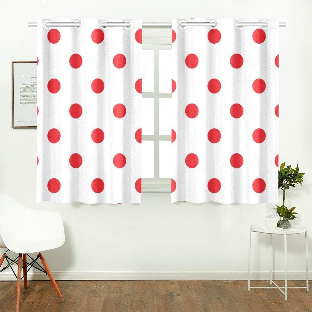tipos de cortinas de lunares