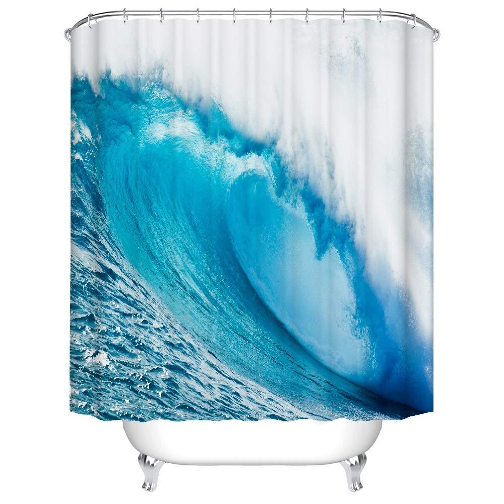 tipos de cortinas para baños