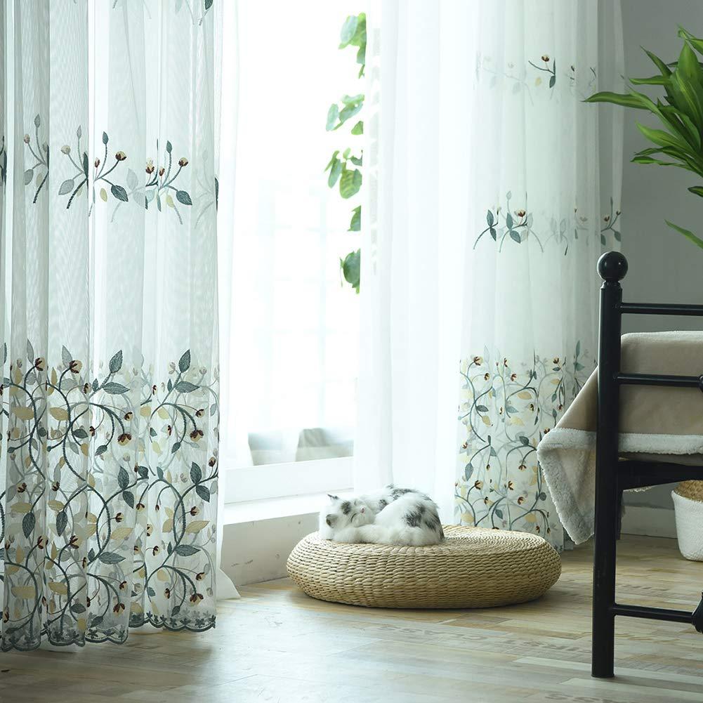 cortinas transparentes para dormitorio