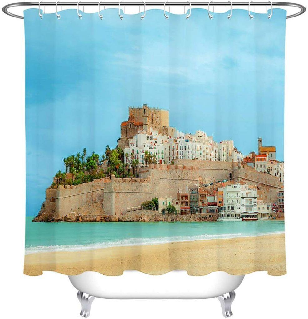 Venta de cortinas con paisajes