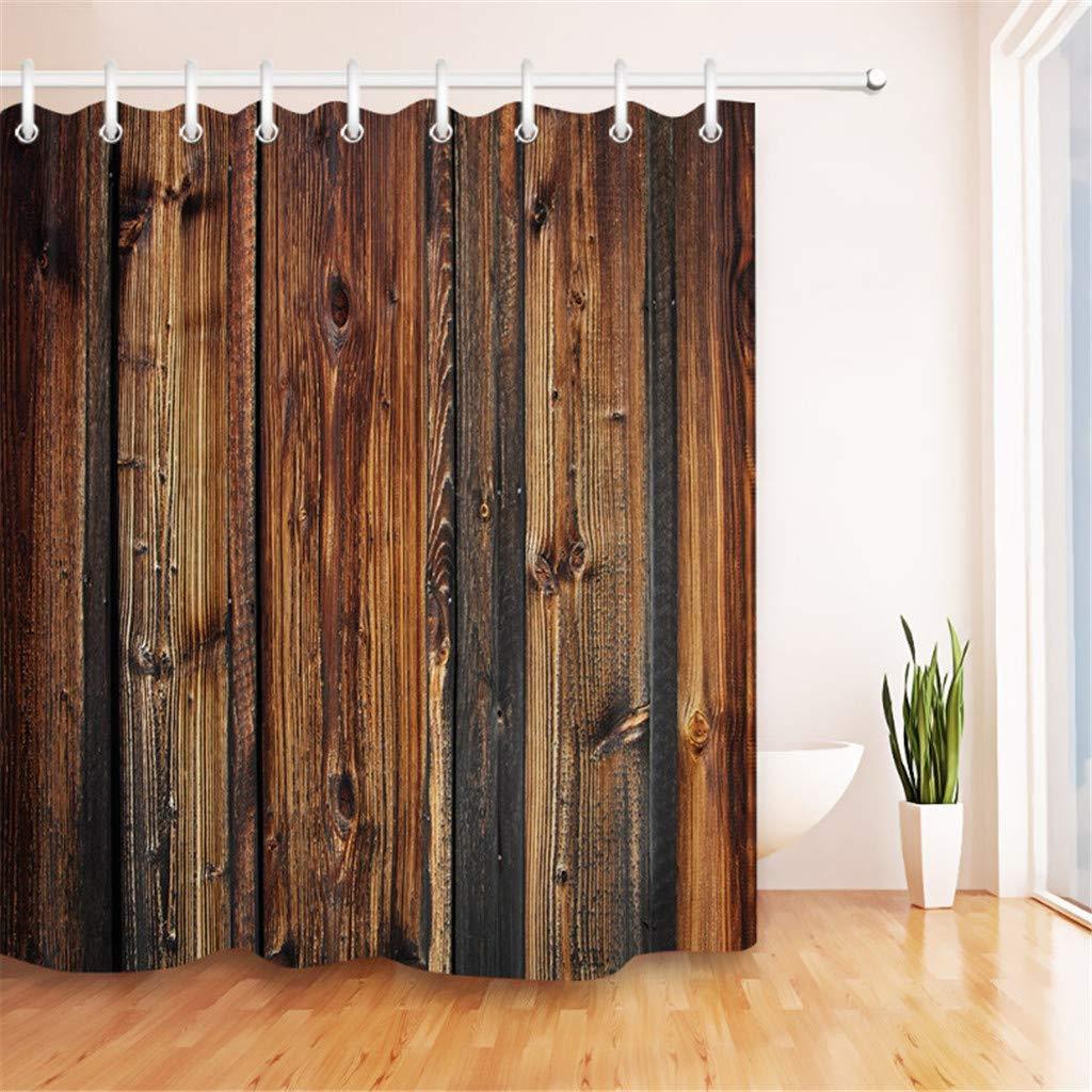 cortinas de baños marrones