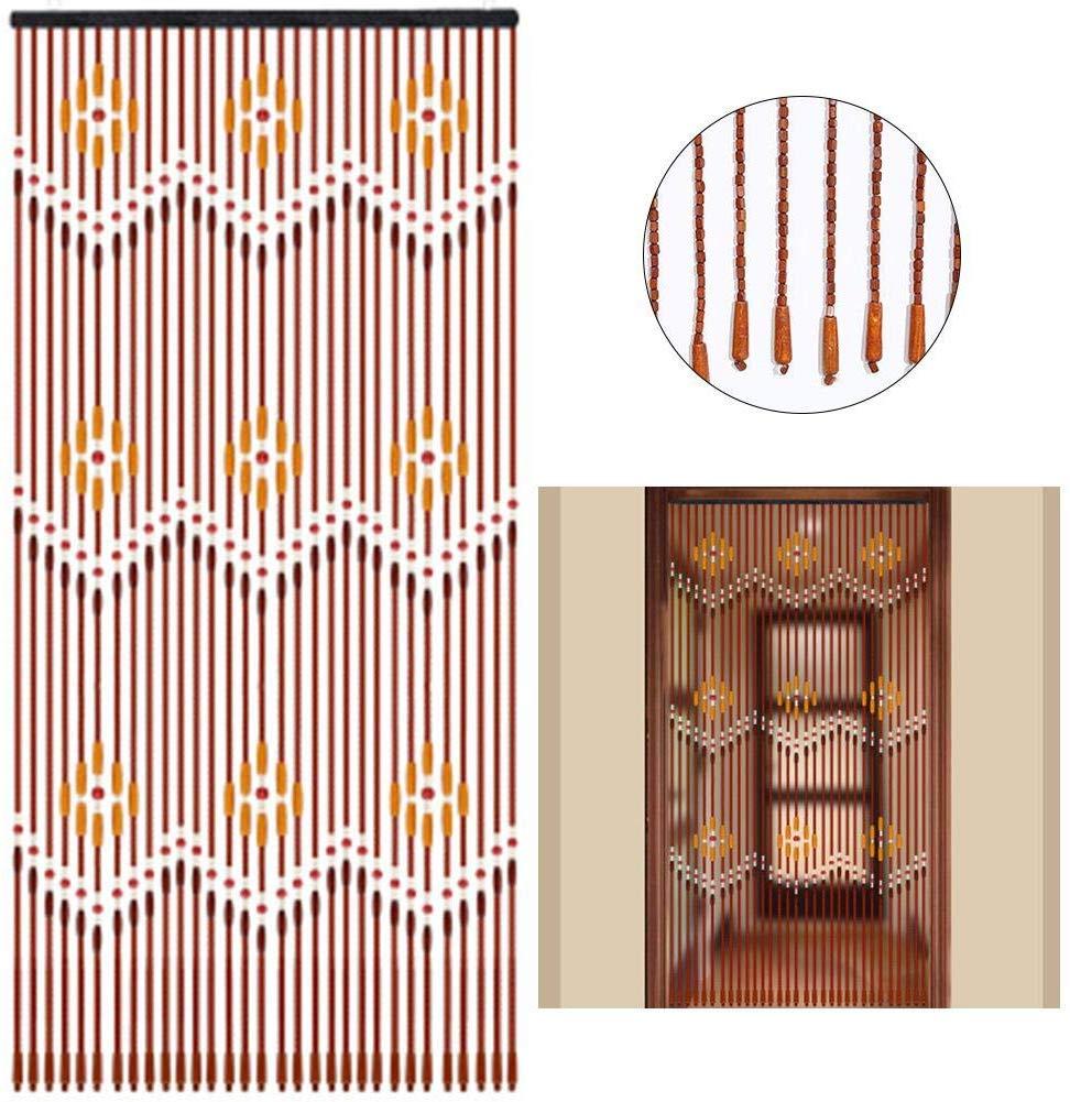 cortinas artesanales de madera