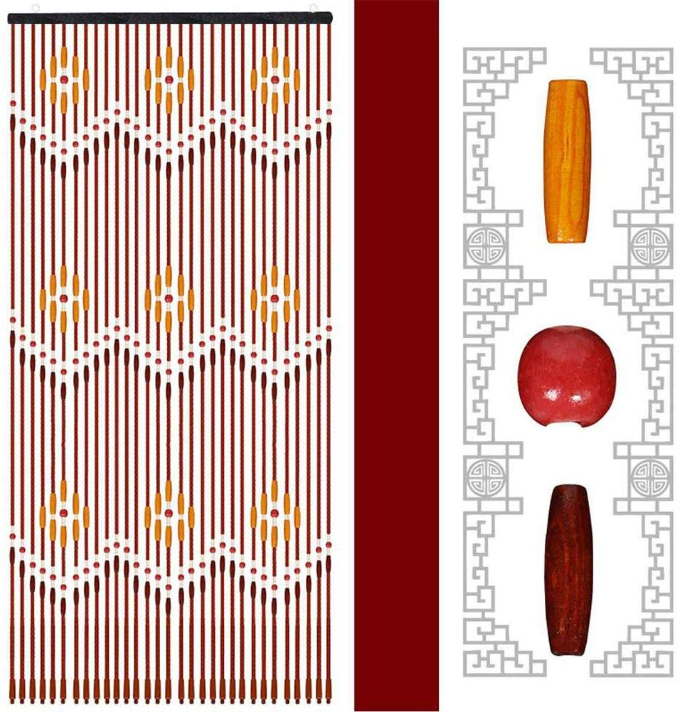 cortinas artesanales de semillas