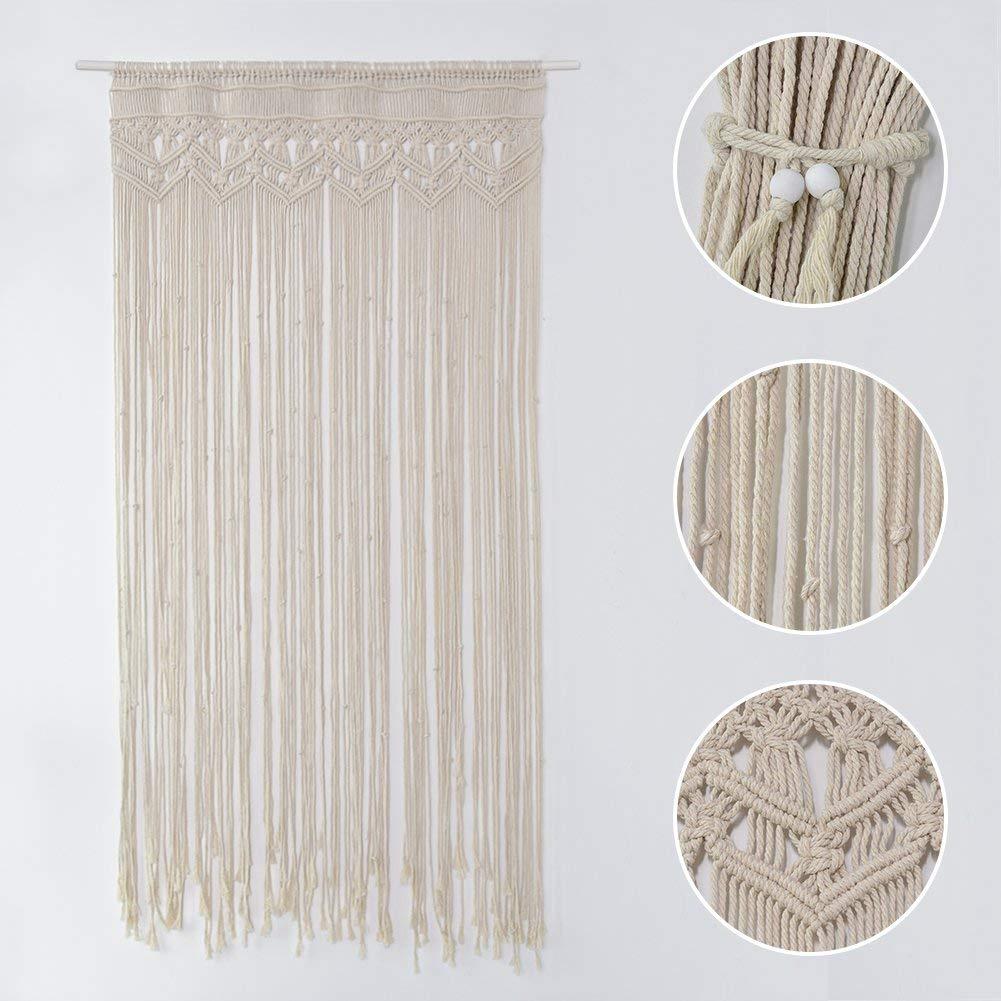 cortinas artesanales de tiras